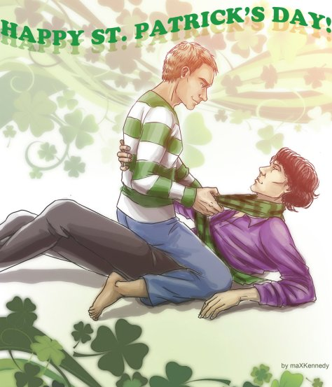 sherlock_bbc___happy_st__patrick__s_day__by_vadeg-d4t3lru