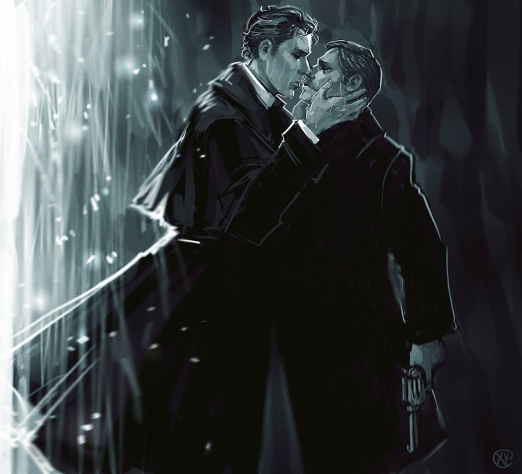 sherlock_bbc__the_abominable_bride___kiss_by_maxkennedy-d9mohhk