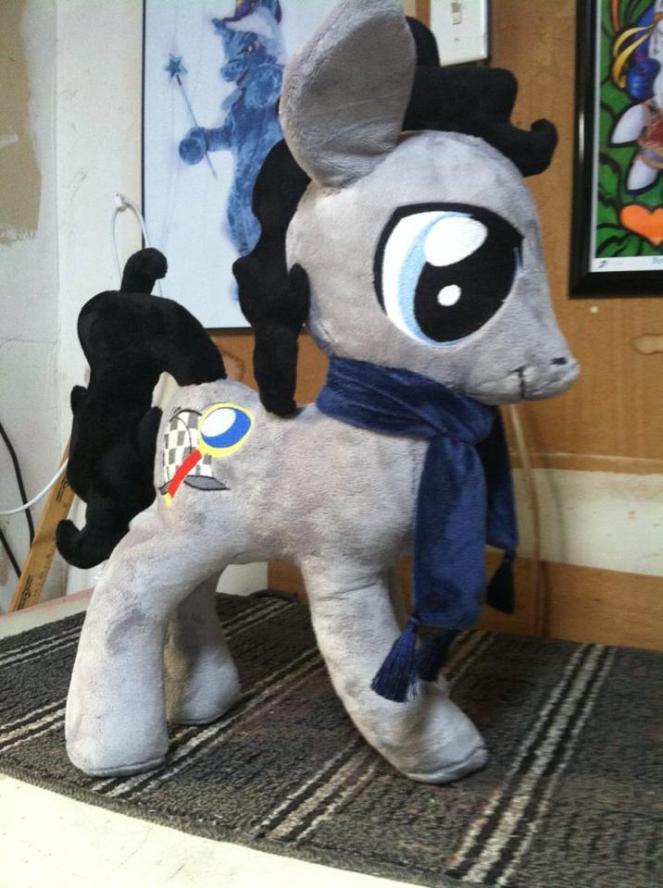 sherlock_holmes_pony_plush_by_judhudson-d7ykjnp