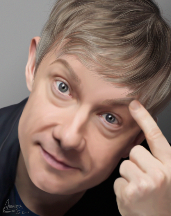 martin_freeman_finger_by_marinavictoria-d5ou89b