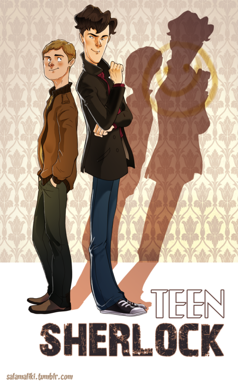 teen_sherlock___cover_by_drslug-d70ol9x