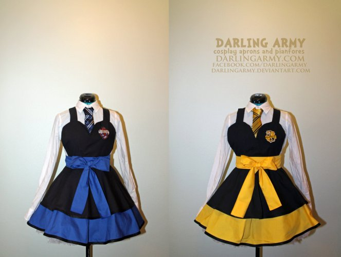 hufflepuff_and_ravenclaw___harry_potter___cosplay_by_darlingarmy-d6unbpm