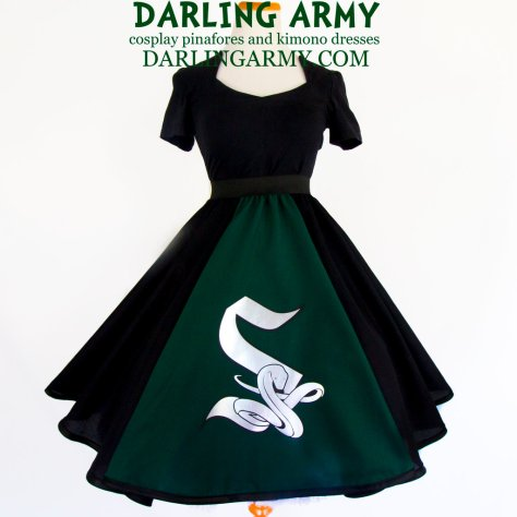 slytherin_hogwarts_house_tea_length_skirt_by_darlingarmy-da957f2