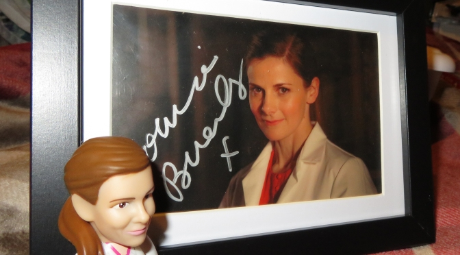Win a Louise Brealey autograph!