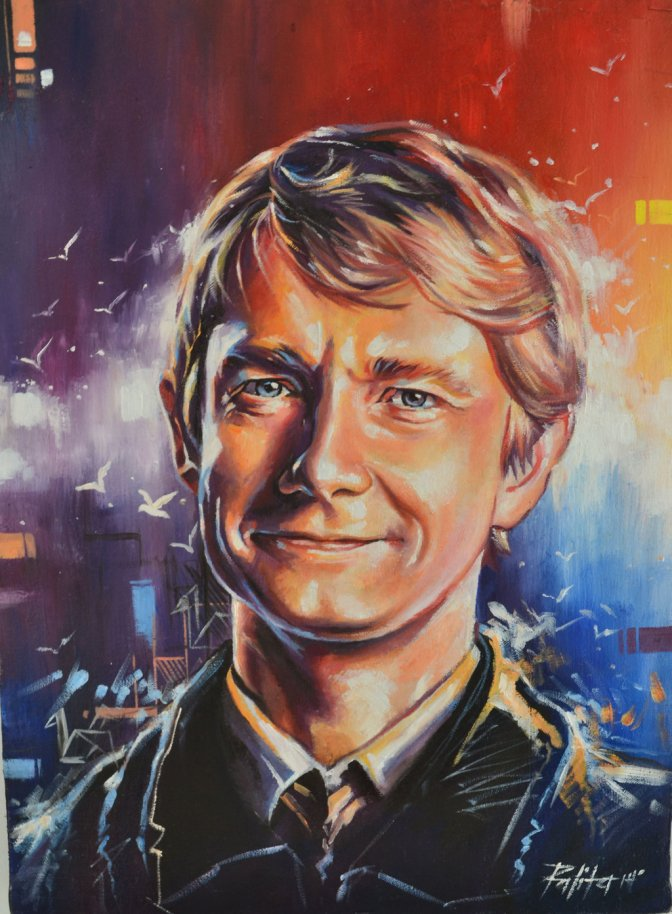 Martin Freeman: Love Through Art