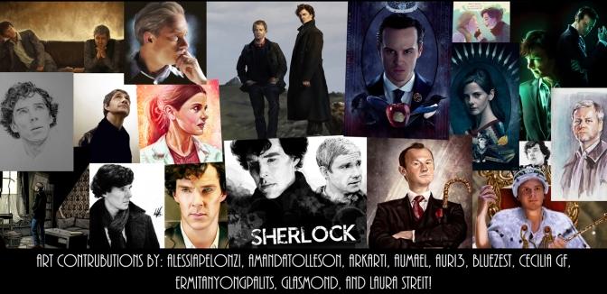An Artistic Look At Sherlock!