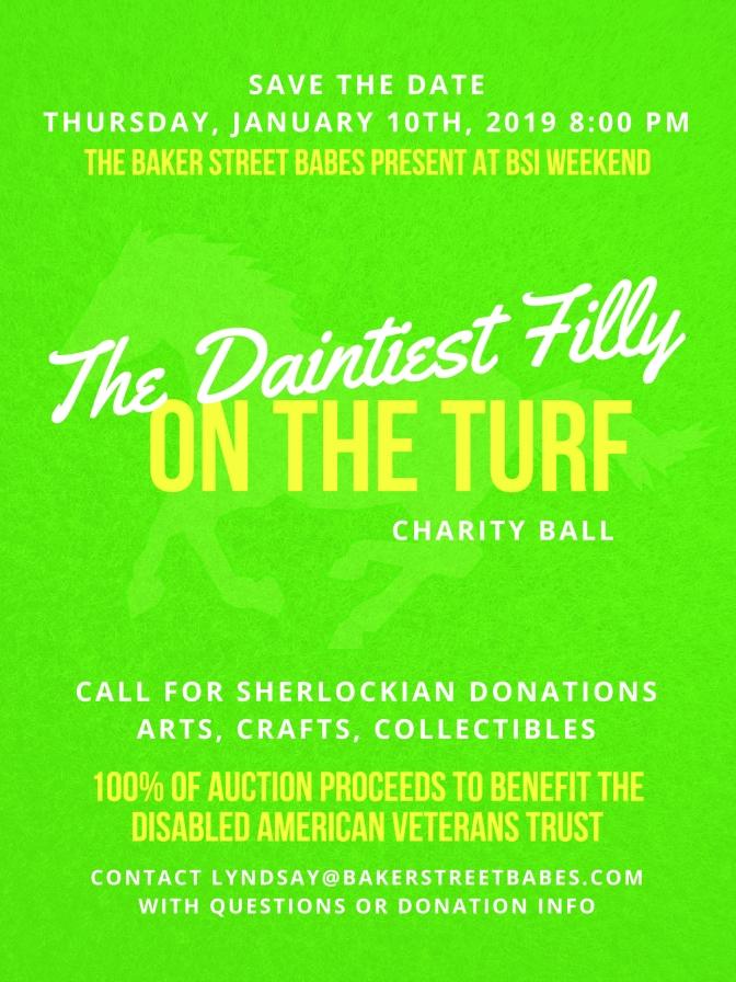Baker Street Babes Charity Ball!
