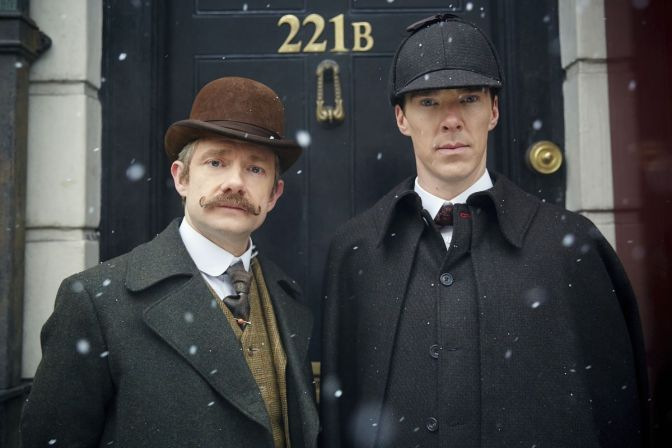 Wishing you Sherlock Fans a Very Happy Holiday!