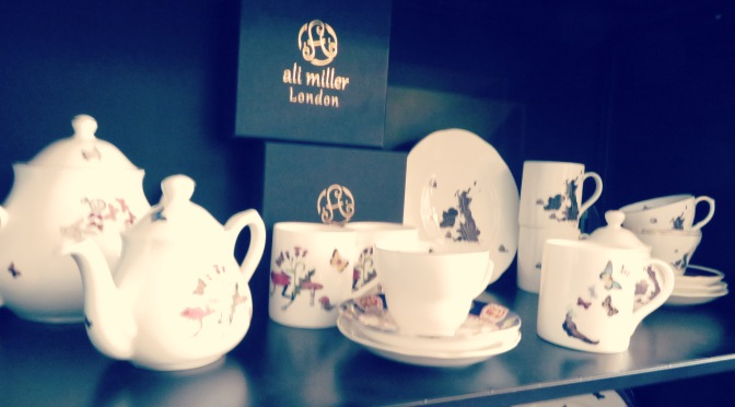 Have a cuppa of tea with Ali Miller!