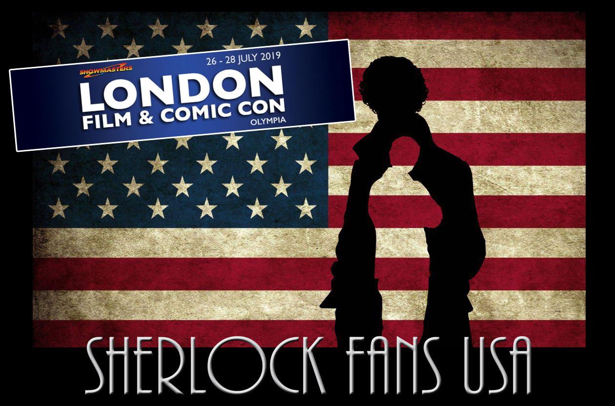 SherlockfansLONDONCOMIC